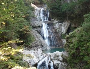 2012年10月26日 大杉谷 七ツ釜滝往復